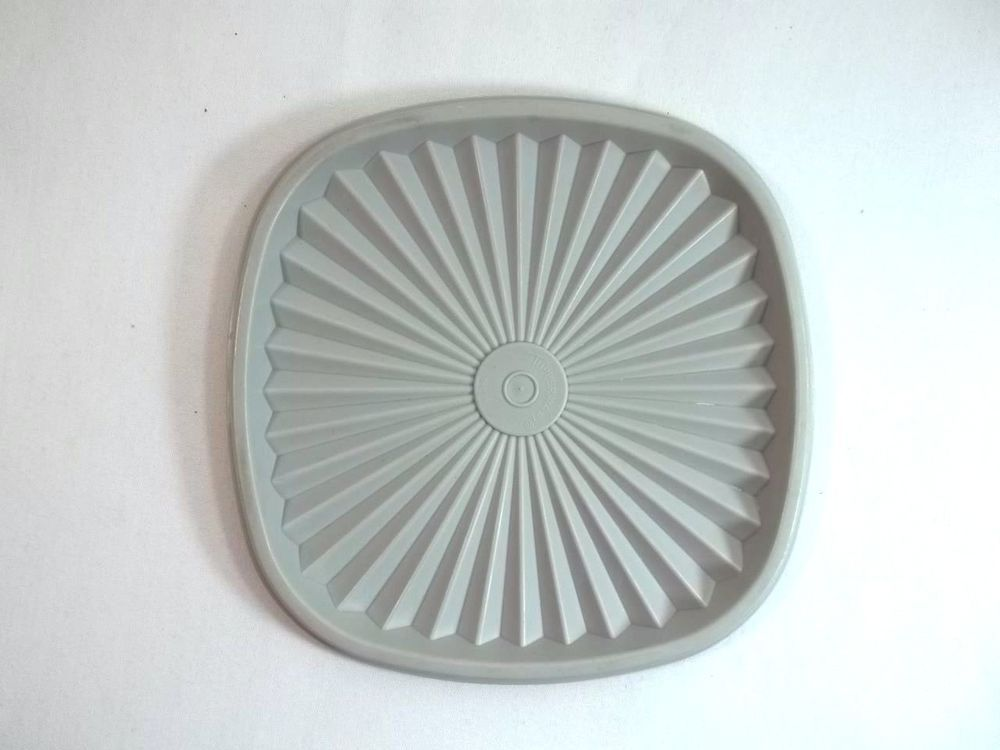 "Tupperware Servalier Replacement Lid 6.5"" Gray 841"