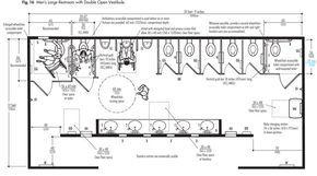 public toilet design plan. public toilet layout dimensions  Google Search wc Pinterest