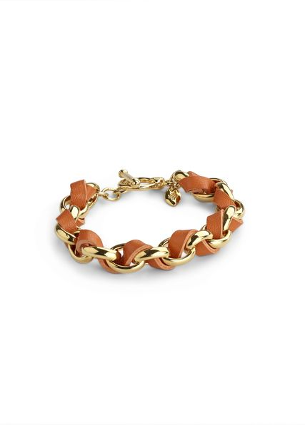 hallam bracelet, orange/gold | LuLu Avenue (On-Trend ...
