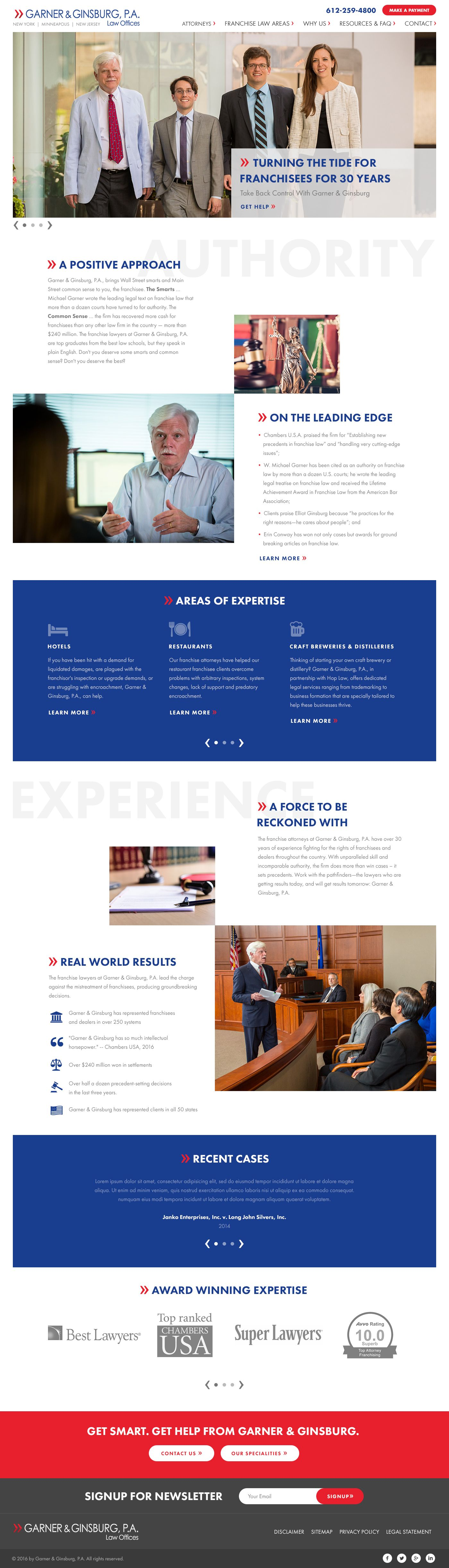 Franchise Lawyer Website Design By Mike Delsing Lawyer Website Design Lawyer Website Lawyer
