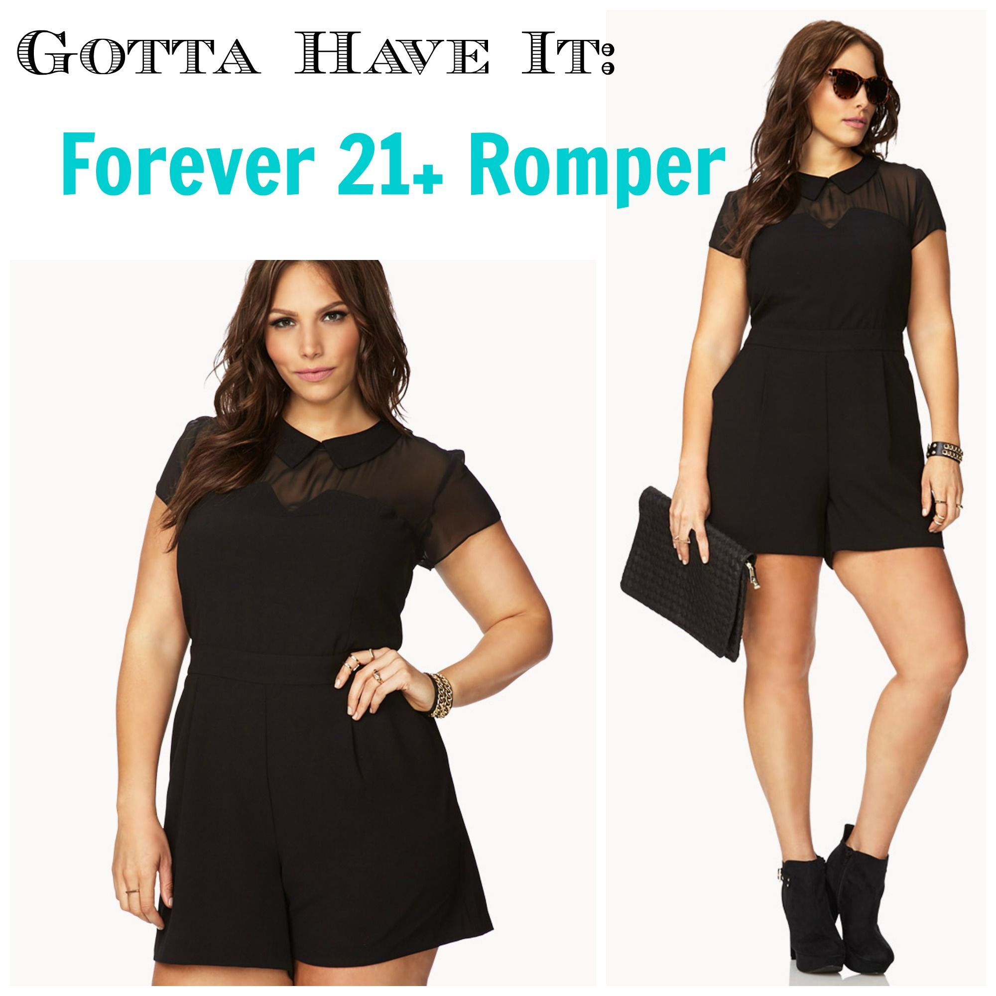 Black dress romper - Clothes Horse