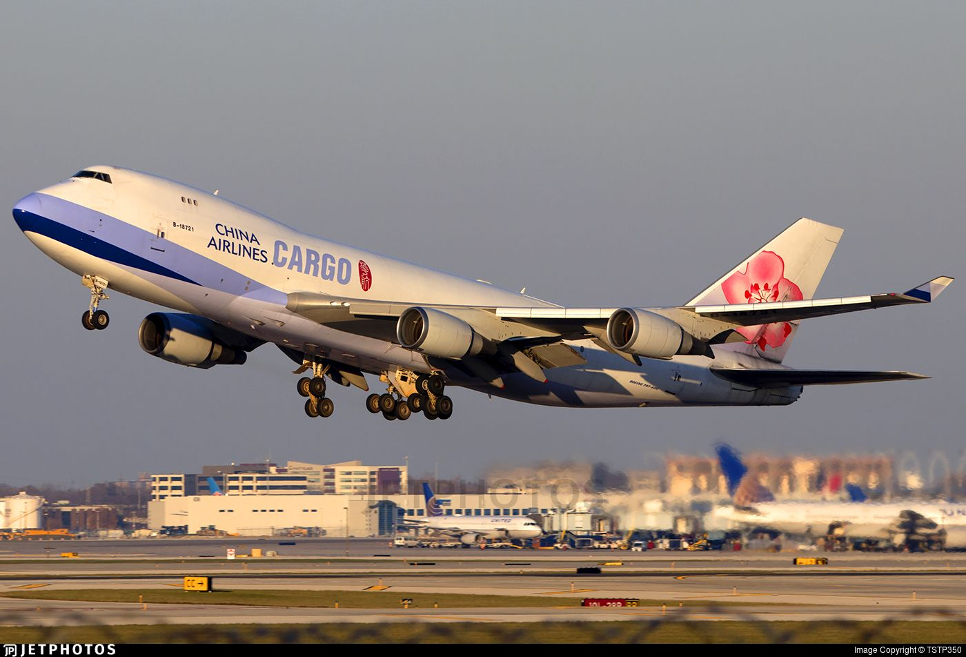 Airline China Airlines Registration B18721 Aircraft