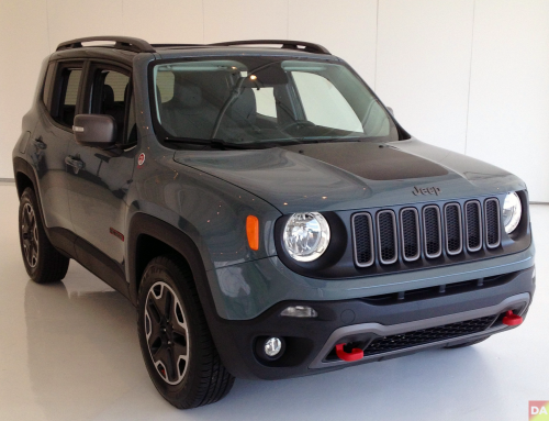 Jeep Renegade This Exact One The Off Road Rated Trailhawk In