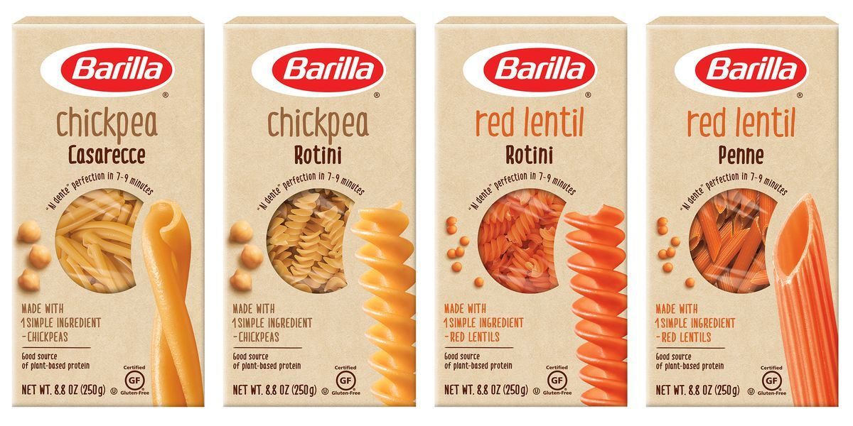 Barilla Is Now Making Protein Packed Chickpea Pasta