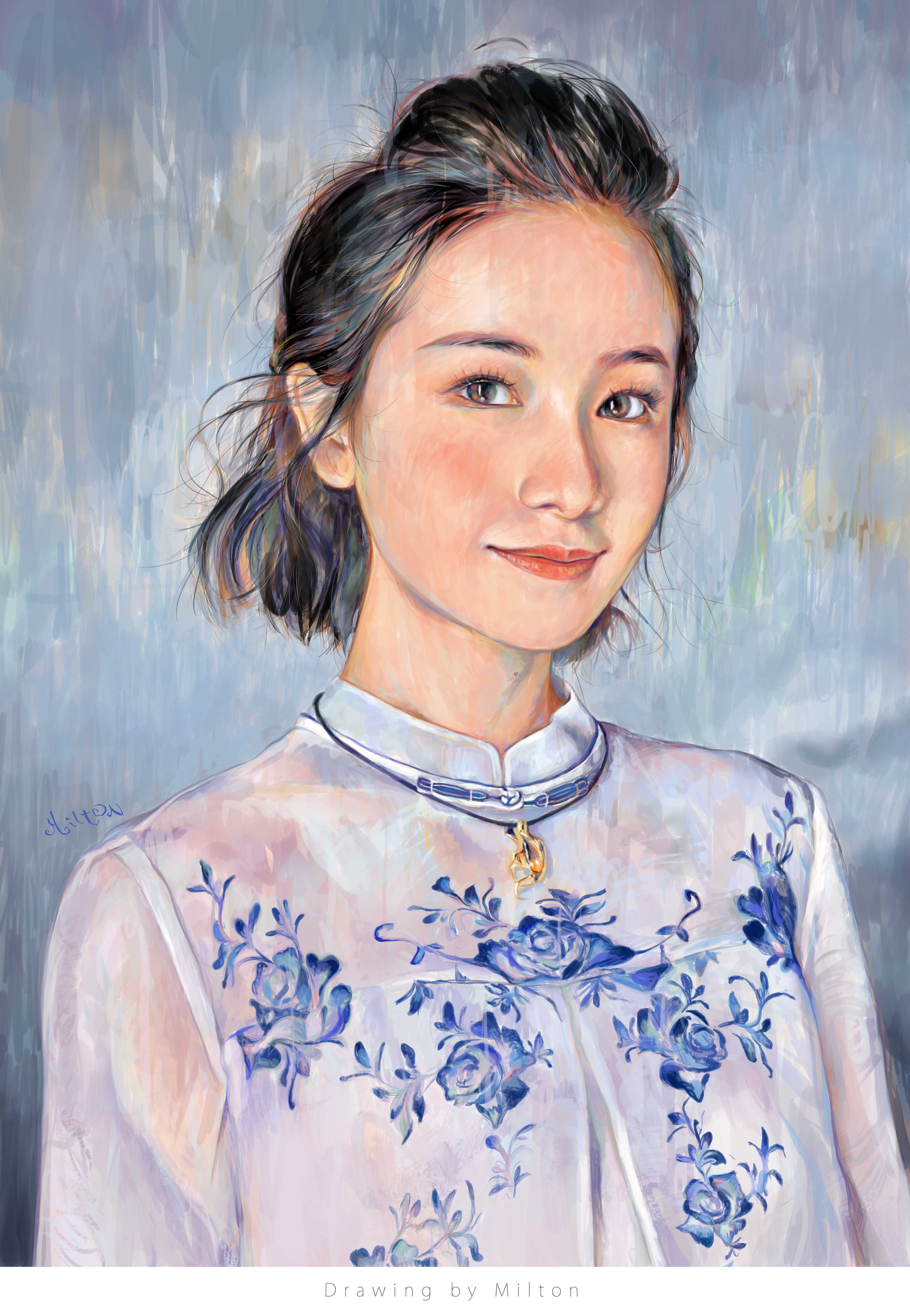 8e82534ac1b Pin by Milton Wong on Milton s Portraits   drawings in 2019 ...
