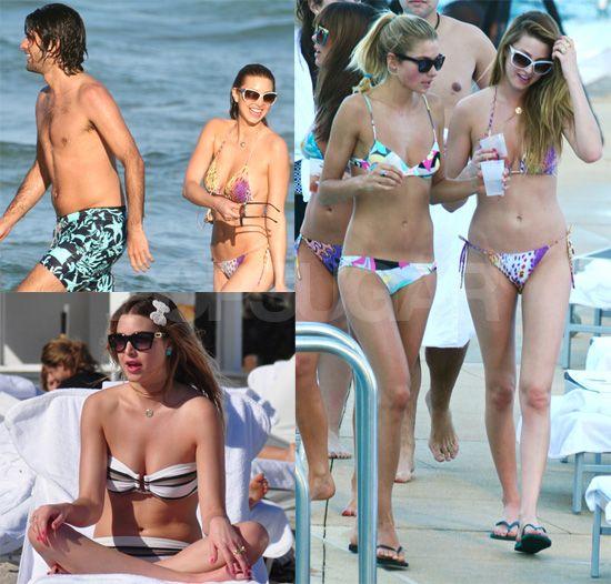Photos of Bikini Clad Whitney Port in Miami