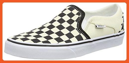 5d85eafece3e86 VANS Asher Womens Checker board Slip On Shoes 9M (9