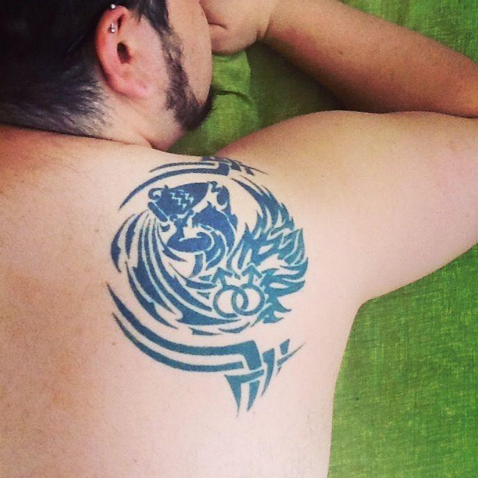 gay fake tatoo