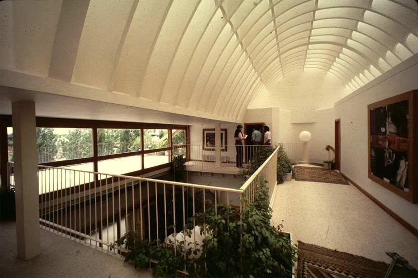 La Macarrona Fernando Higueras Somosaguas Madrid Architecture Modernist Interior Spanish Architecture