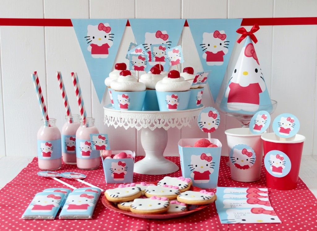 Hello Kitty Birthday Party Ideas Free Seattlebaby Co