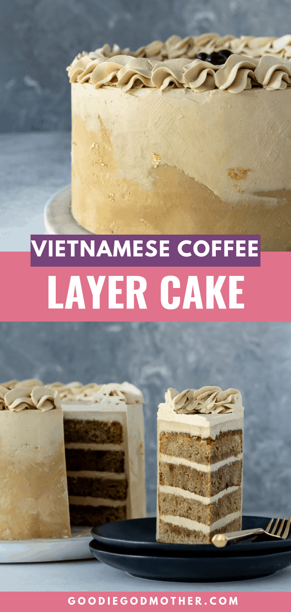 Vietnamese Coffee Layer Cake Recipe Dessert recipes