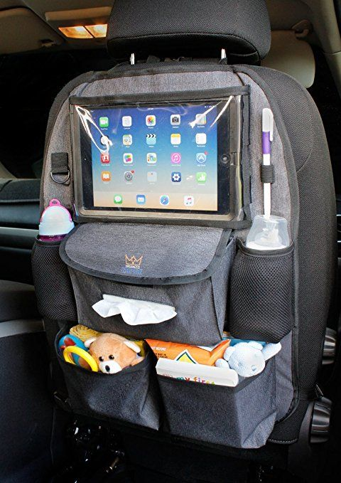 Car Seat Back Cover Mat Baby Feeding Bottle Snack Tablet Organizer Cartoon Storage Bags Multi-functional Hanging Holders With The Most Up-To-Date Equipment And Techniques Activity & Gear Strollers Accessories