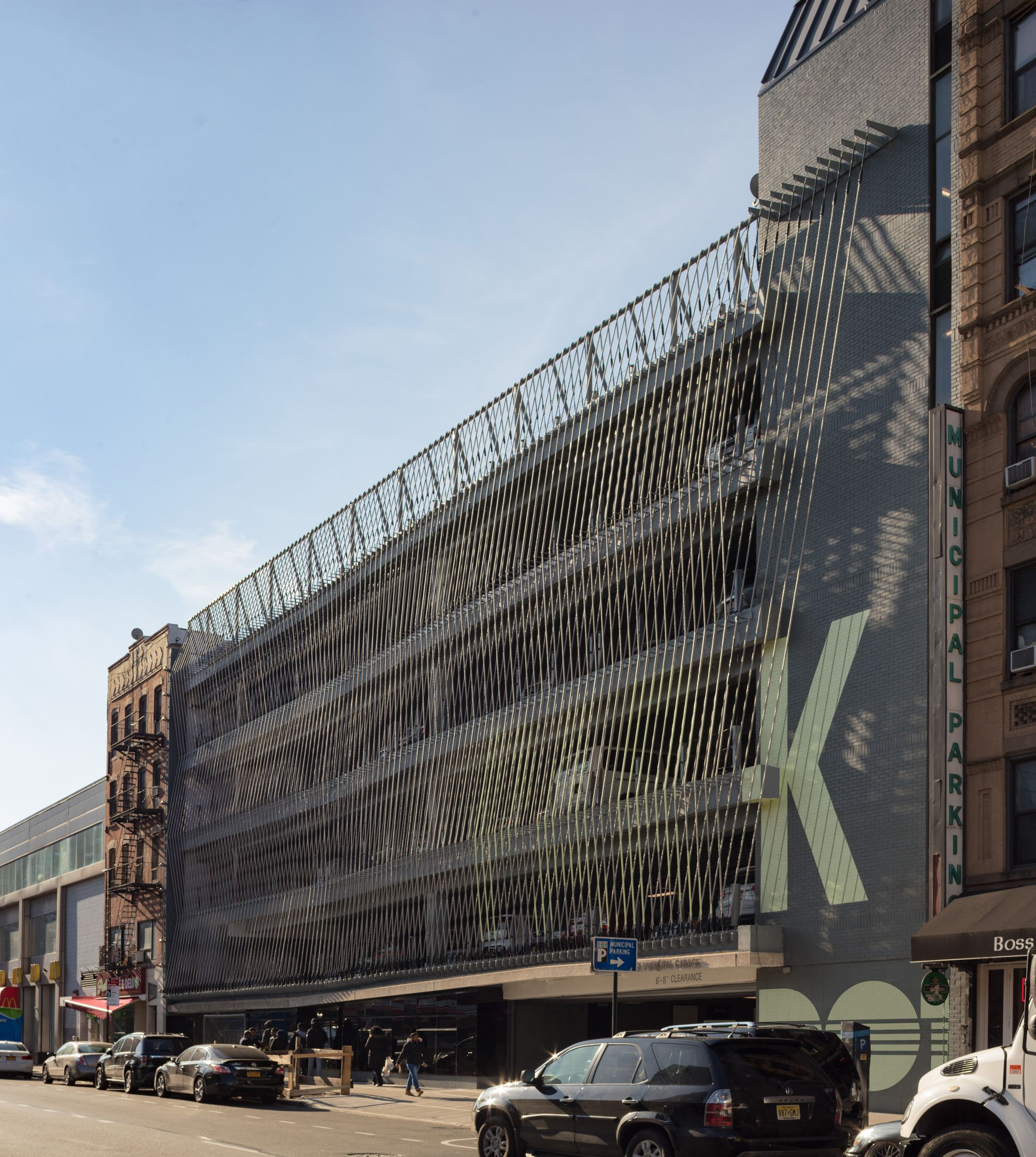 Garage Design Architecture: Gallery Of Delancey And Essex Parking Garage / Michielli