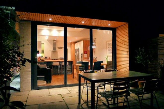 single storey extension overhanging roof - Google Search : home : Pinterest : Single storey ...