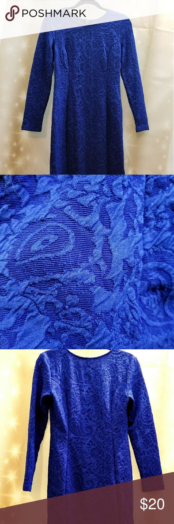 H&m blue lace dress  HuM dress  My Posh Closet  Pinterest  Lace print Stretch lace