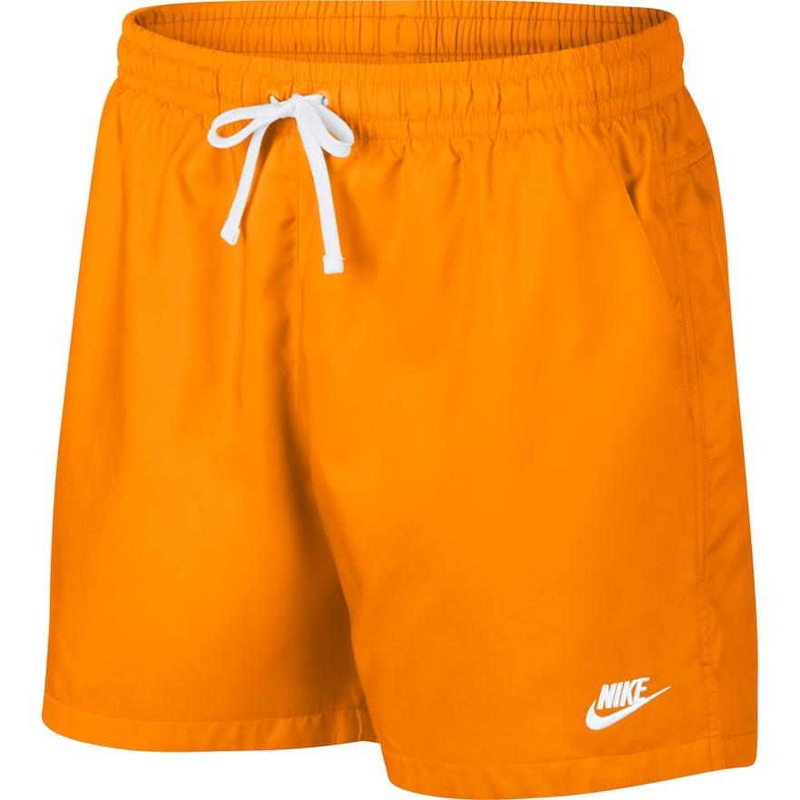 Men's Nike Sportswear Woven Shorts, Size: Small, Lt Orange