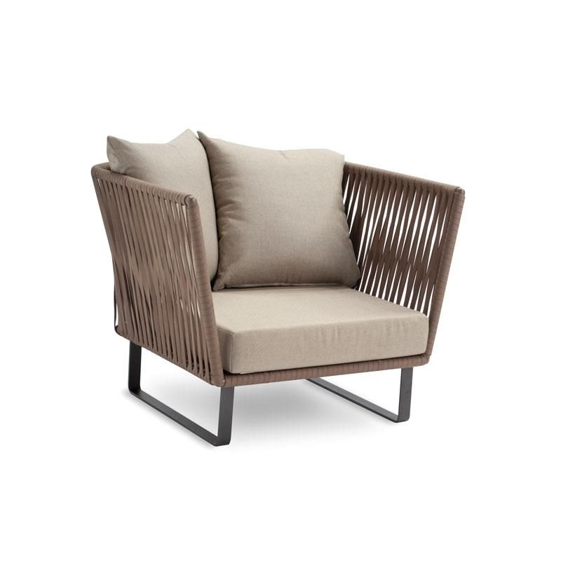 Kettal bitta club armchair kettal contemporary beach for Outdoor furniture upholstery