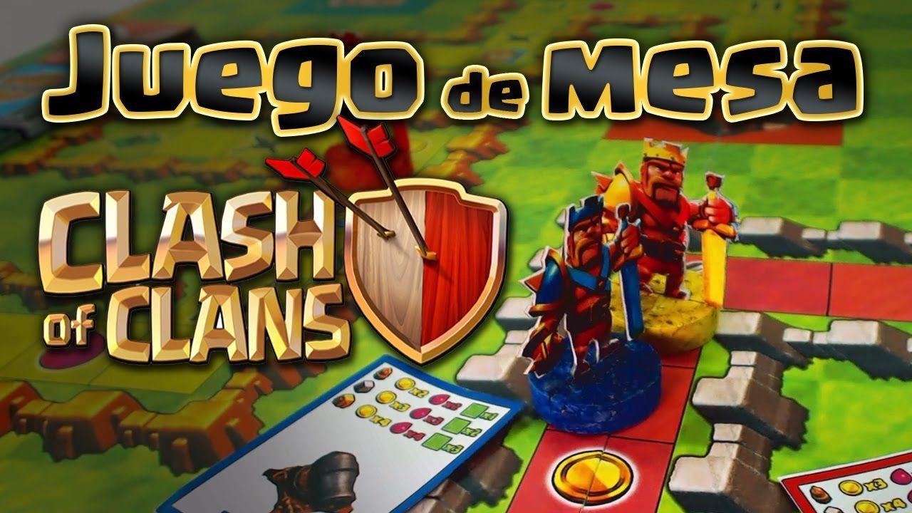Clash Of Clans Juego De Mesa Clash Of Clans Manualidades Sencillas Y Bonitas Juegos De Mesa