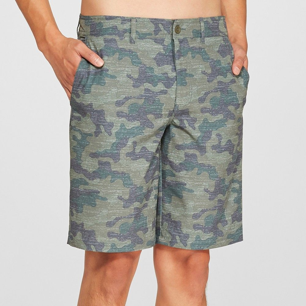 312cdffdec Whether you're relaxing at the beach or running errands around town you'll  love wearing the Marksman Hybrid Swim Shorts from Goodfellow and Co.