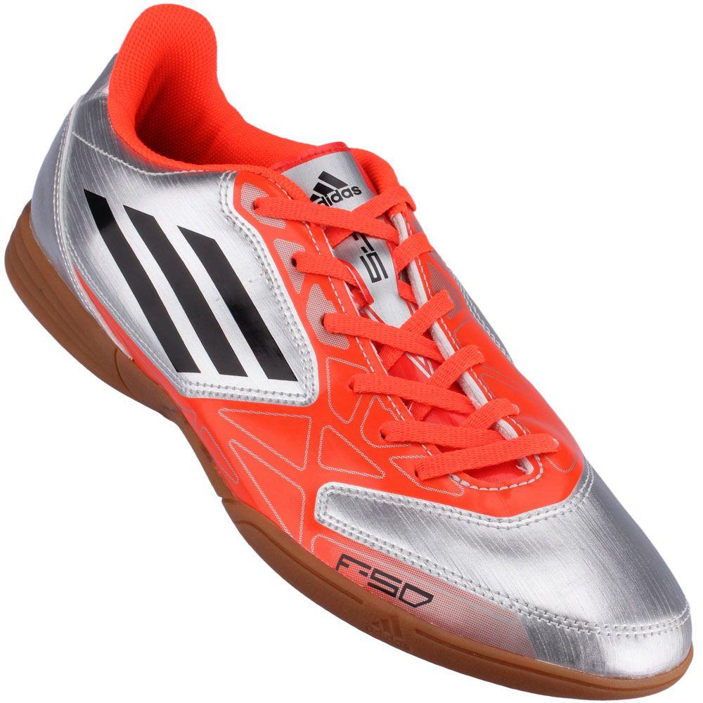 Chuteira Futsal Adidas F5 IN Masculino R 179.90  38b472d180b22