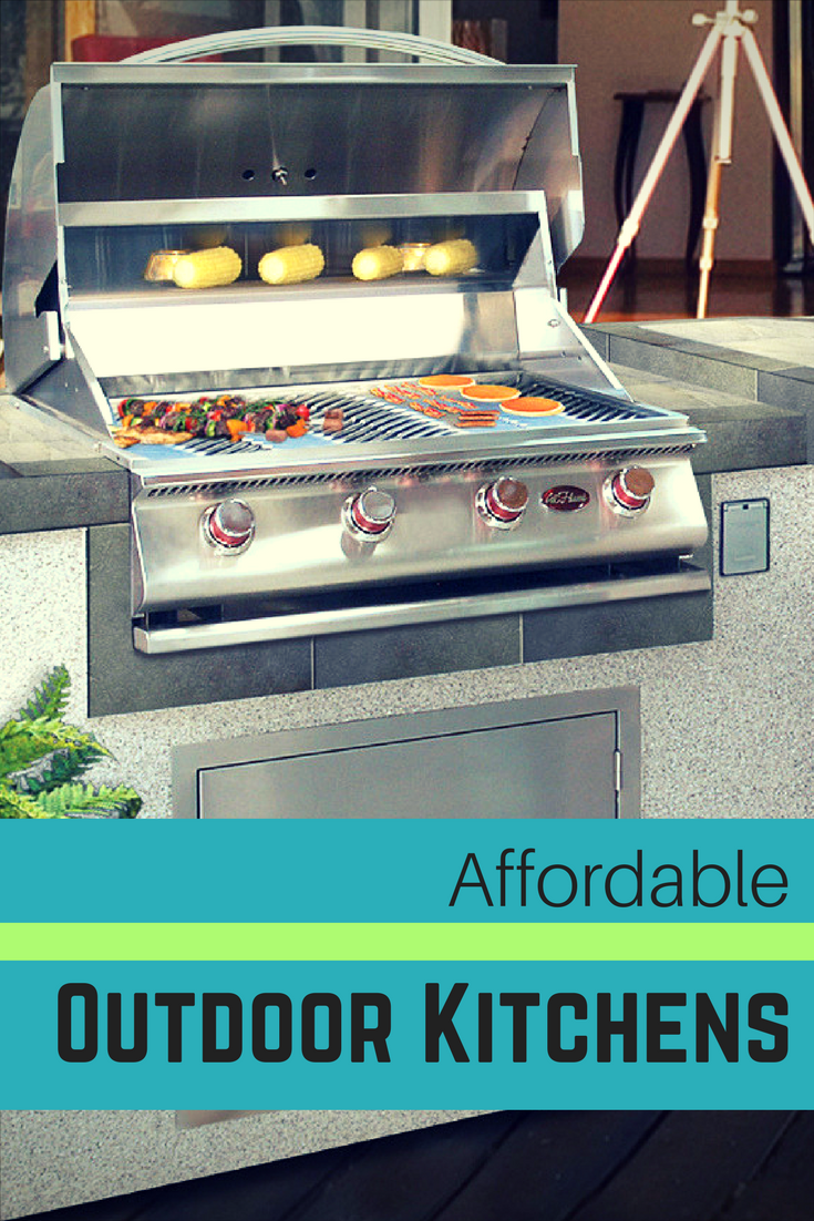 8 best buys for an outdoor kitchen you can afford backyard