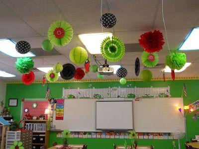 Ladybug Classroom Decoration Ideas : Nikkindergarten my  classroom ladybug theme new