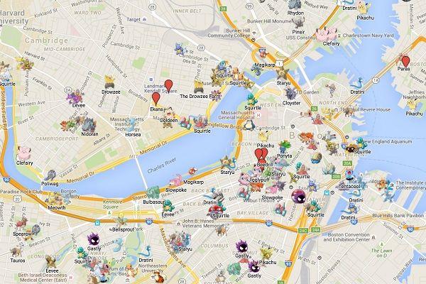 Pokemon GO cheats, tips & tricks: Pokemon GO maps show