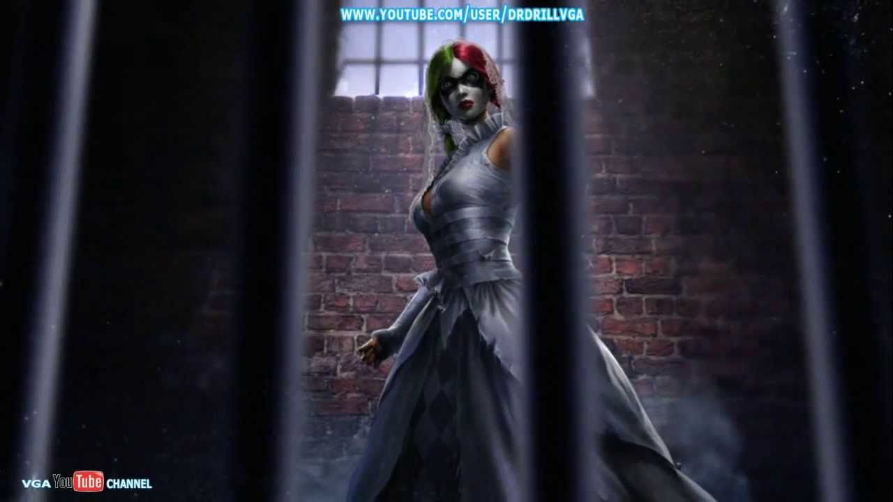 Harley quinn wedding dress front harley quinn outfits for Harley quinn wedding dress