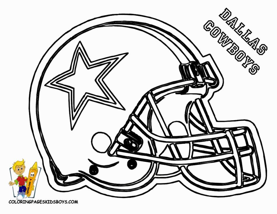 Image for Nfl Football Helmet Coloring Pages | team decorations ...