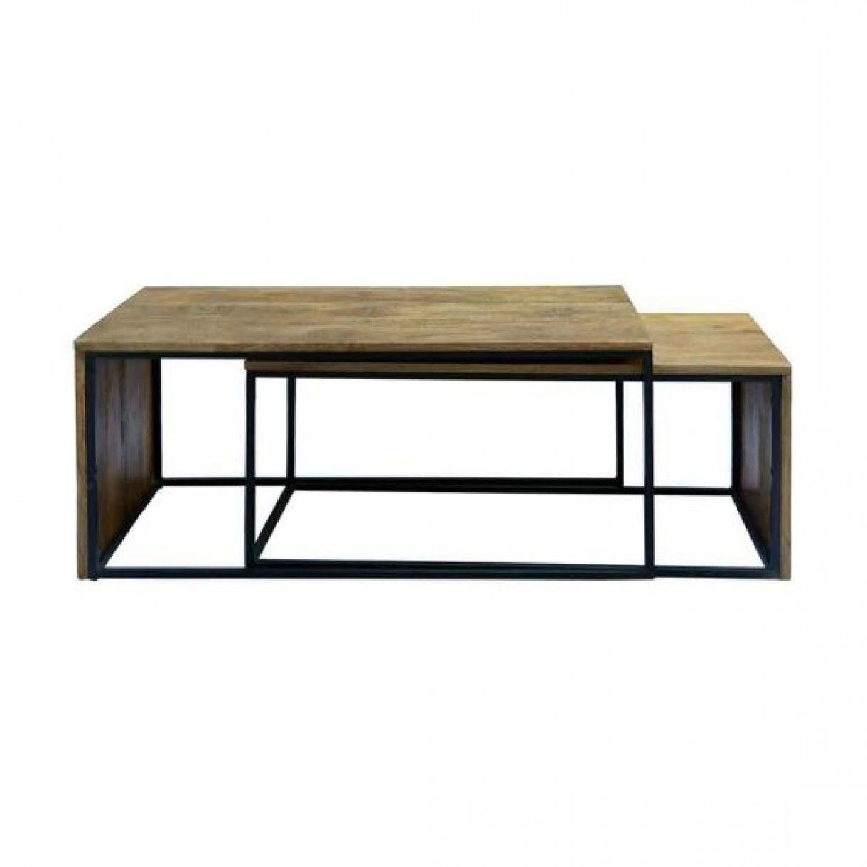Fulham 2 Piece Nesting Coffee Table Set In 2021 Nesting Coffee Tables Coffee Table Coffee Table Setting [ 1220 x 1220 Pixel ]