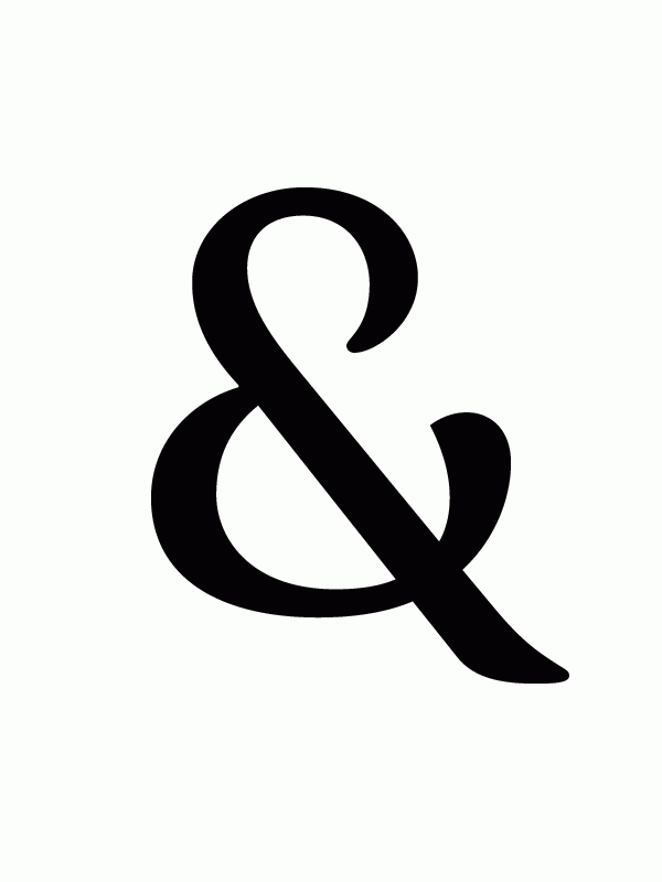Feijoa Ampersand Ampersand Is The Character Or Sign
