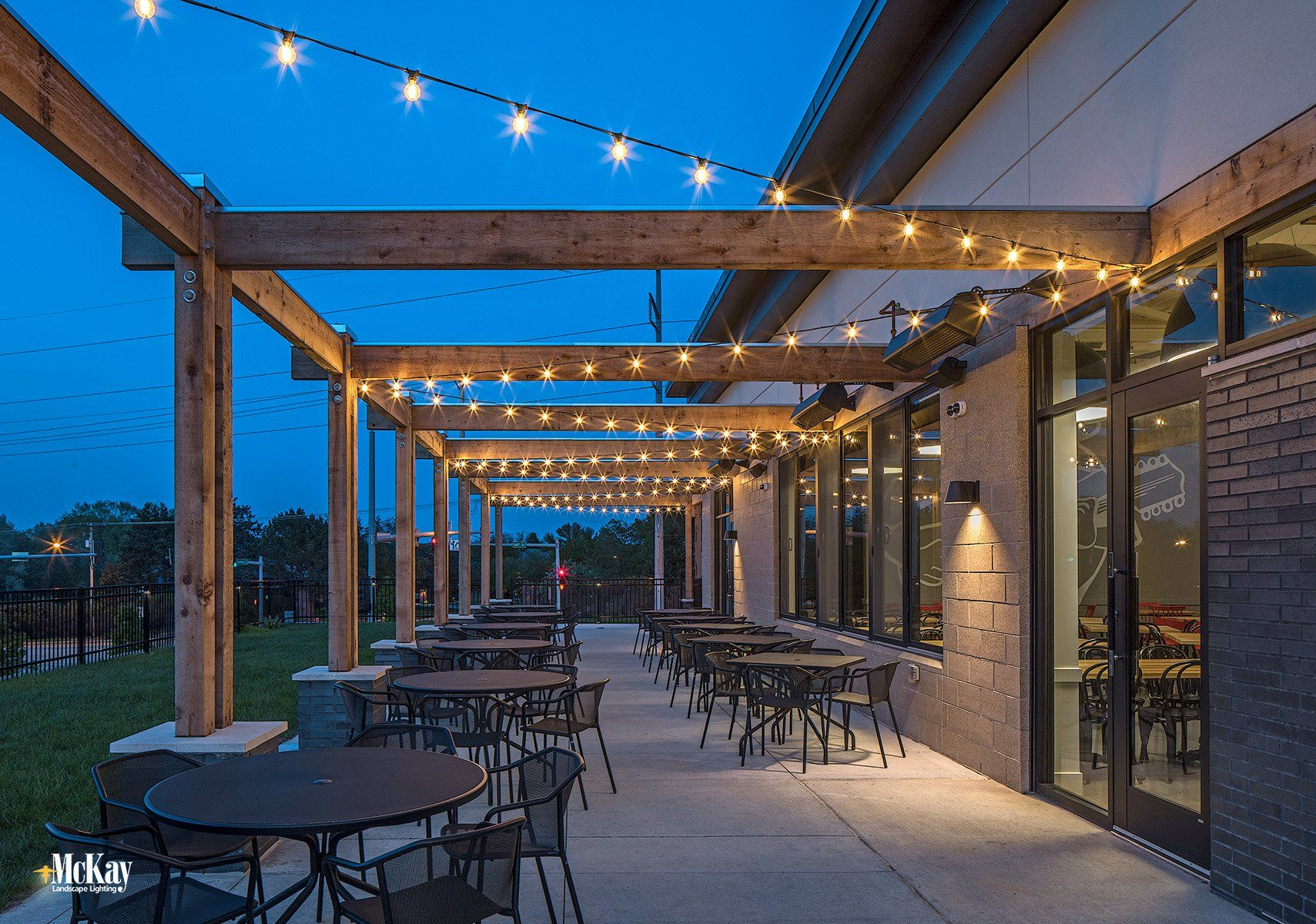 Pin On Outdoor Restaurant Patio Lighting La Casa West Omaha Nebraska