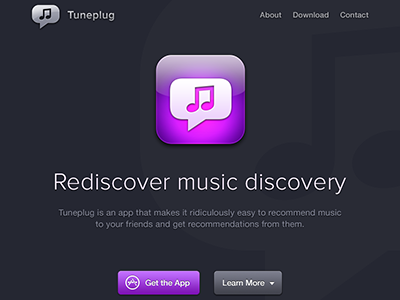 Tuneplug Website by Bill Labus