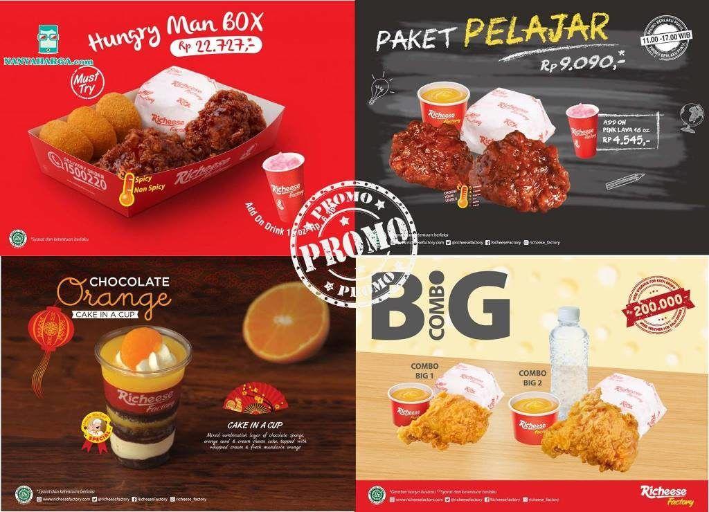 Richeese Factory Promo Nanya Harga Blog Kuliner In 2019