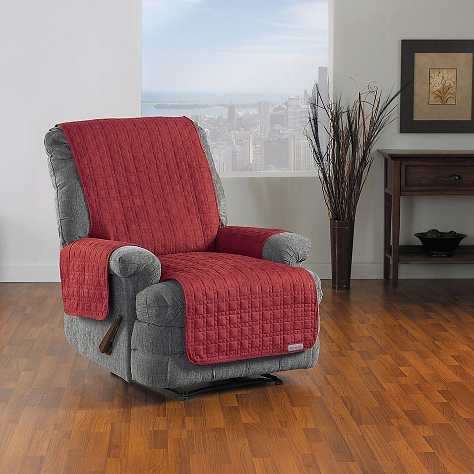 Quickcover Waterproof Premium Recliner Protector In Merlot