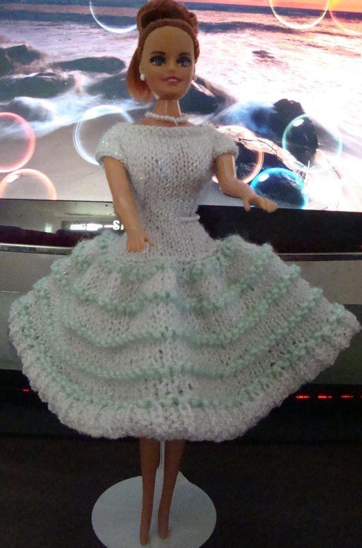 Ladyfingers Barbie Quickie Dresses Continued Granddaughters