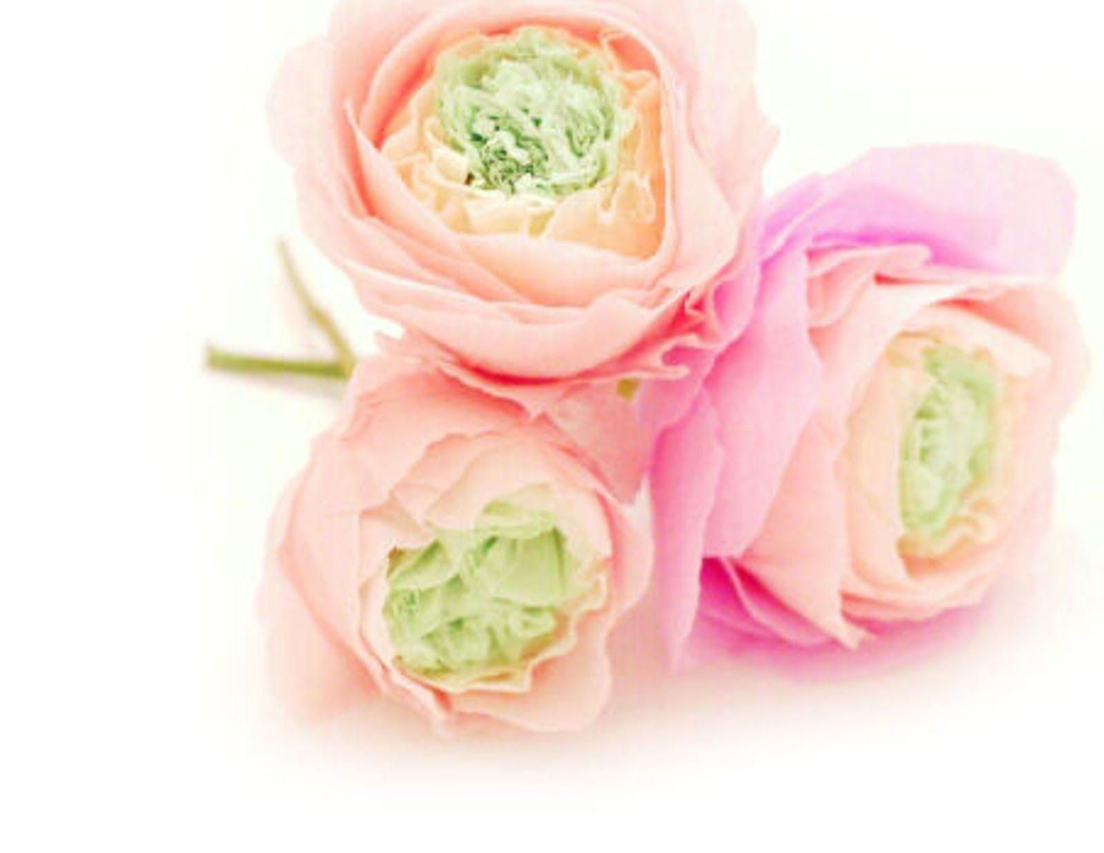 Crepe Paper Ranunculus Diy By Twigg Studios Flowers Fabric