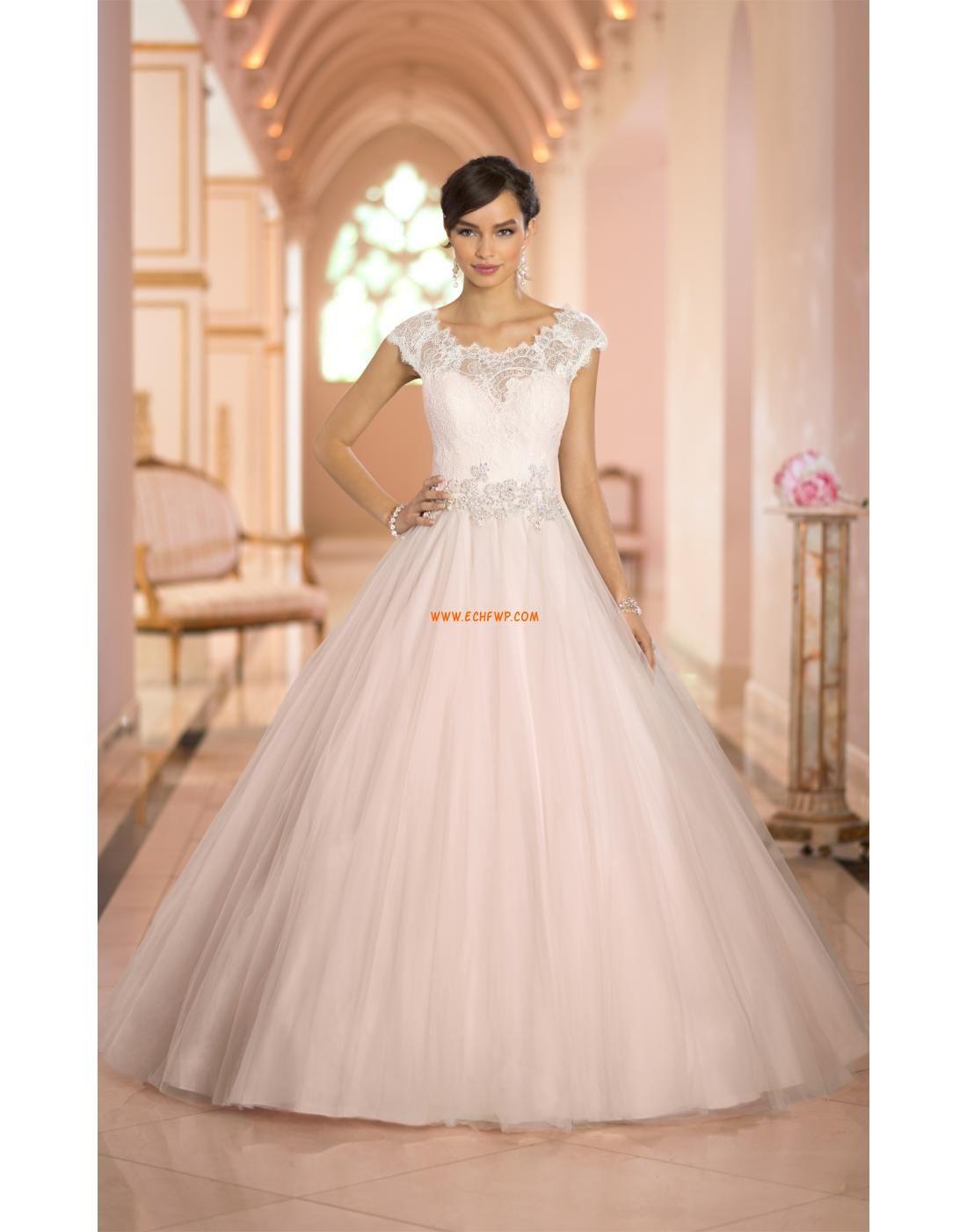 Princesse Manche courte Bonnet Robes de mariée Designer | Robe de ...