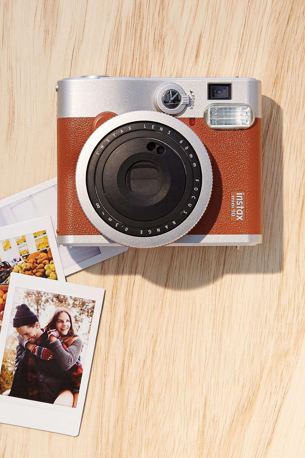 Instax Mini 90 Neo Classic Brown Instax Mini 90 Fujifilm Instax Mini Fujifilm Instax