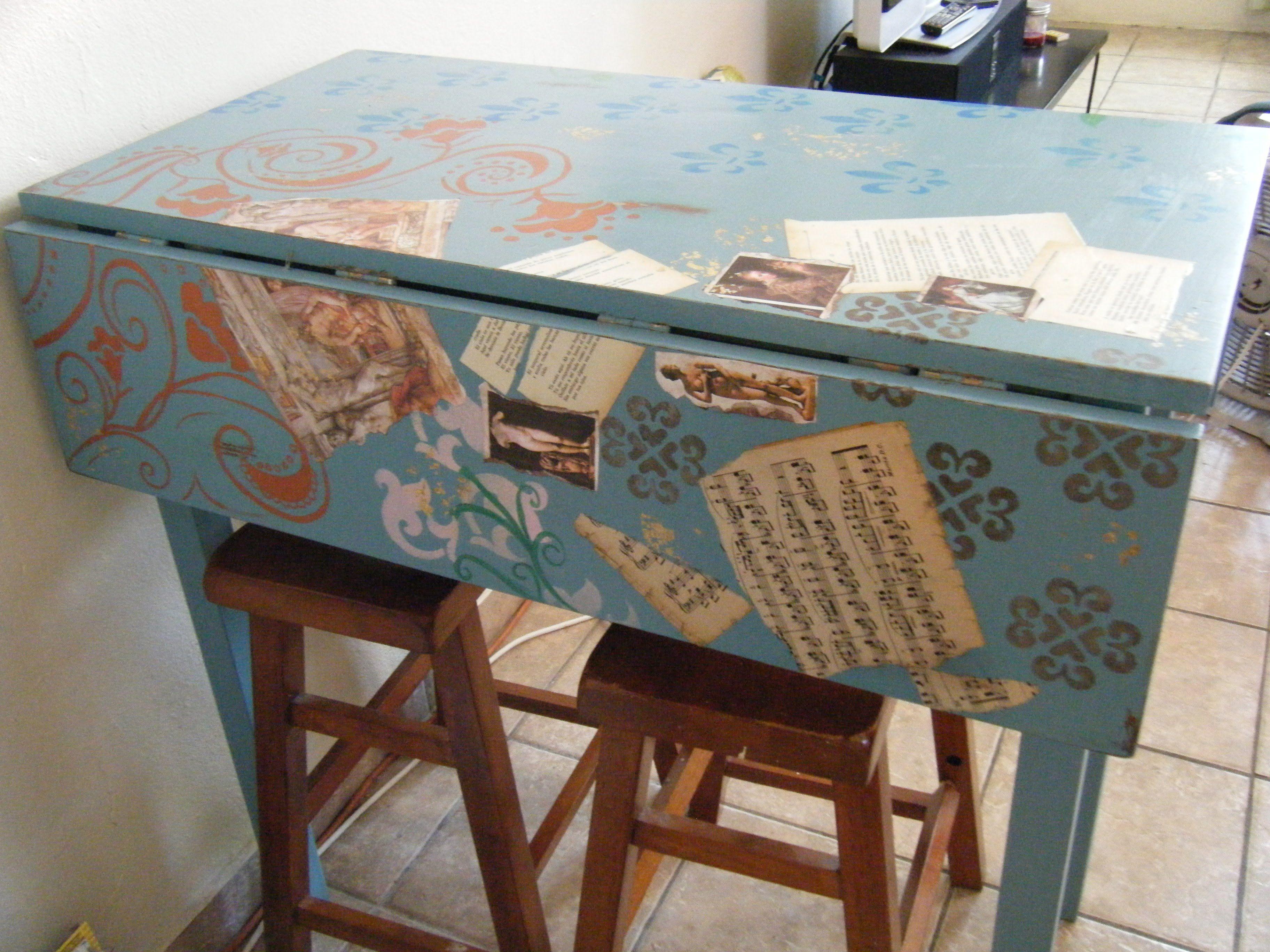 mesa vintage cocina | Ideas de Muebles Vintage | Mesa vintage ...