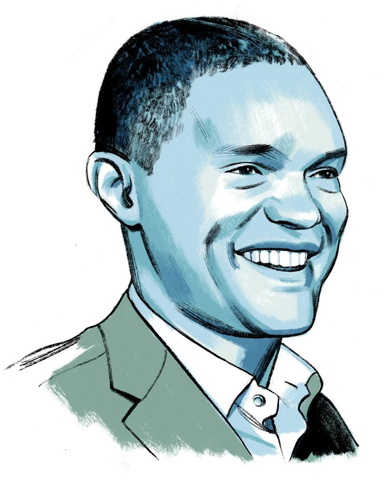 """The """"Daily Show"""" host and author of """"Born a Crime"""" travels a lot, but doesn't read when he flies: """"I can't stay awake when I try to read on a plane. Planes are for watching movies based on books."""""""