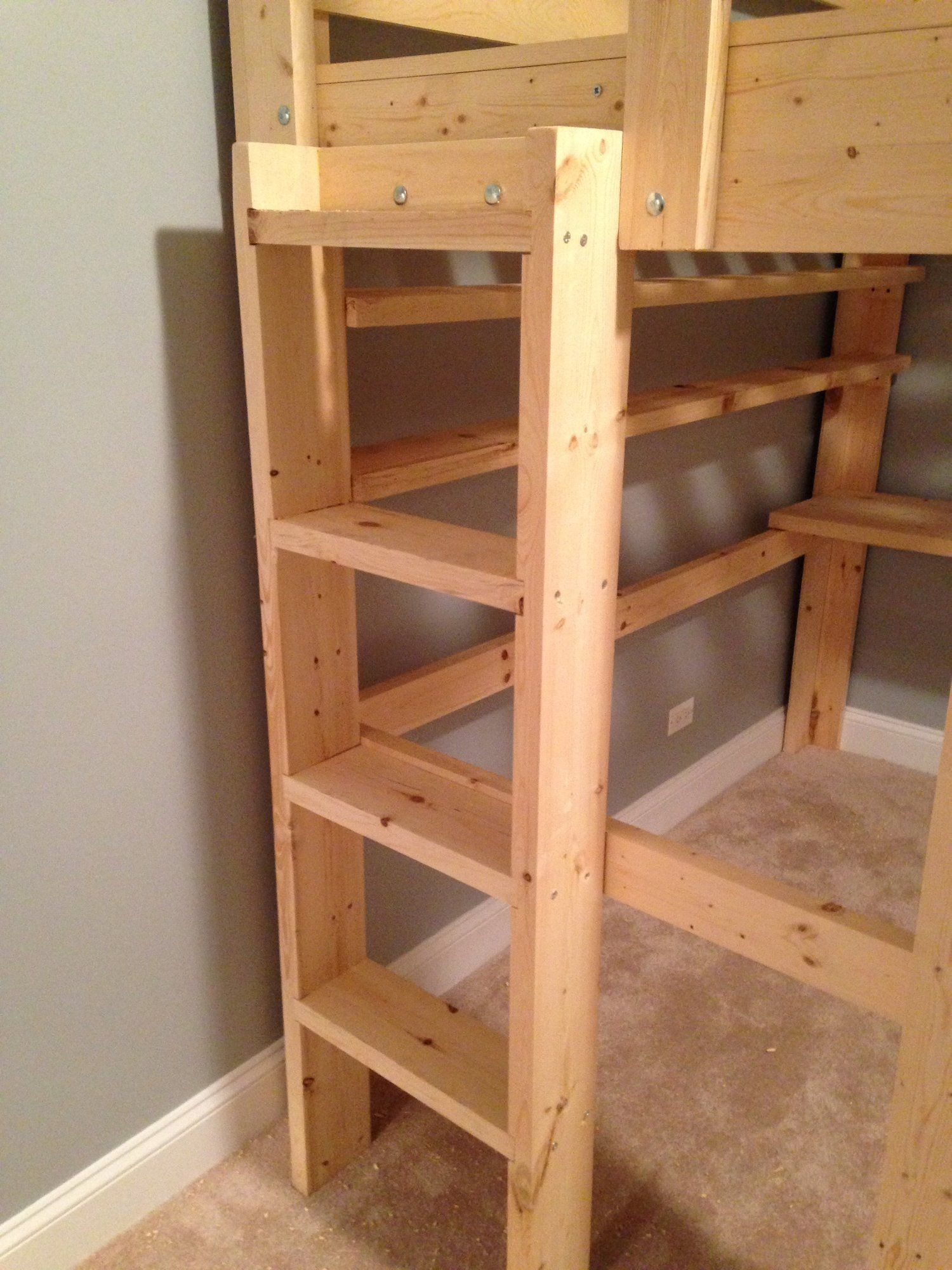 Queen, King, Full Loft Beds Custom Made to Fit Your Space