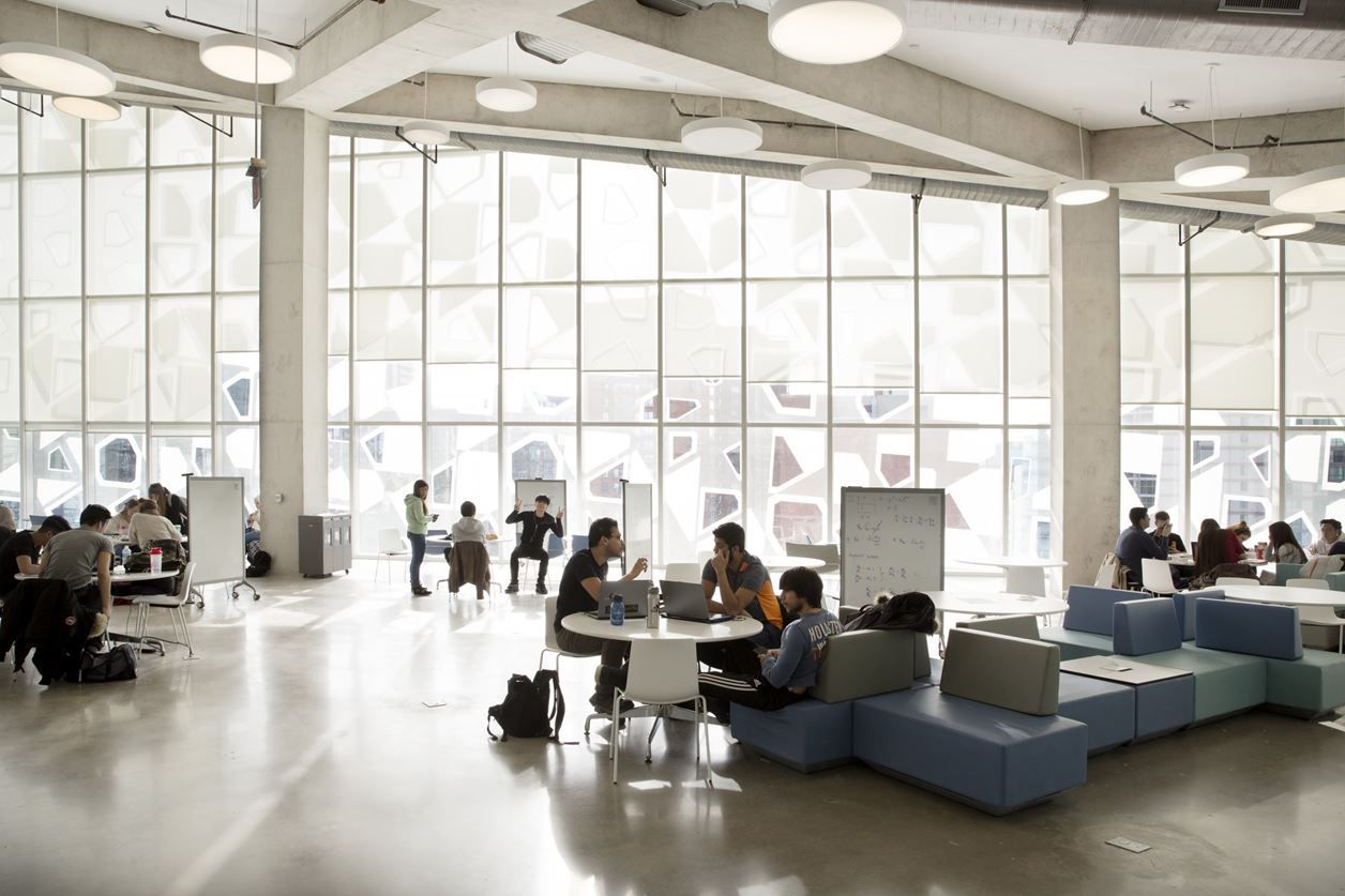 Ryerson University Student Learning Centre Picture Gallery With