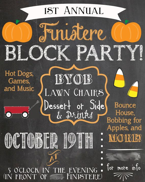 25 B 228 Sta Block Party Invites Id 233 Erna P 229 Pinterest The Block