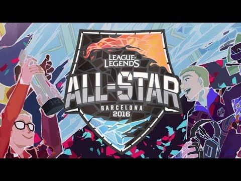 LoL All-Star 2016 League of Legends / Truc tiep Allstars lien minh huye.