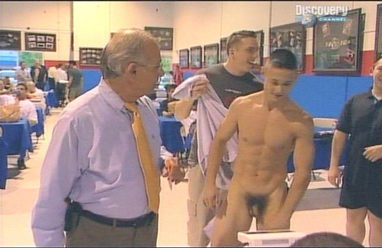 College guys nude wrestling
