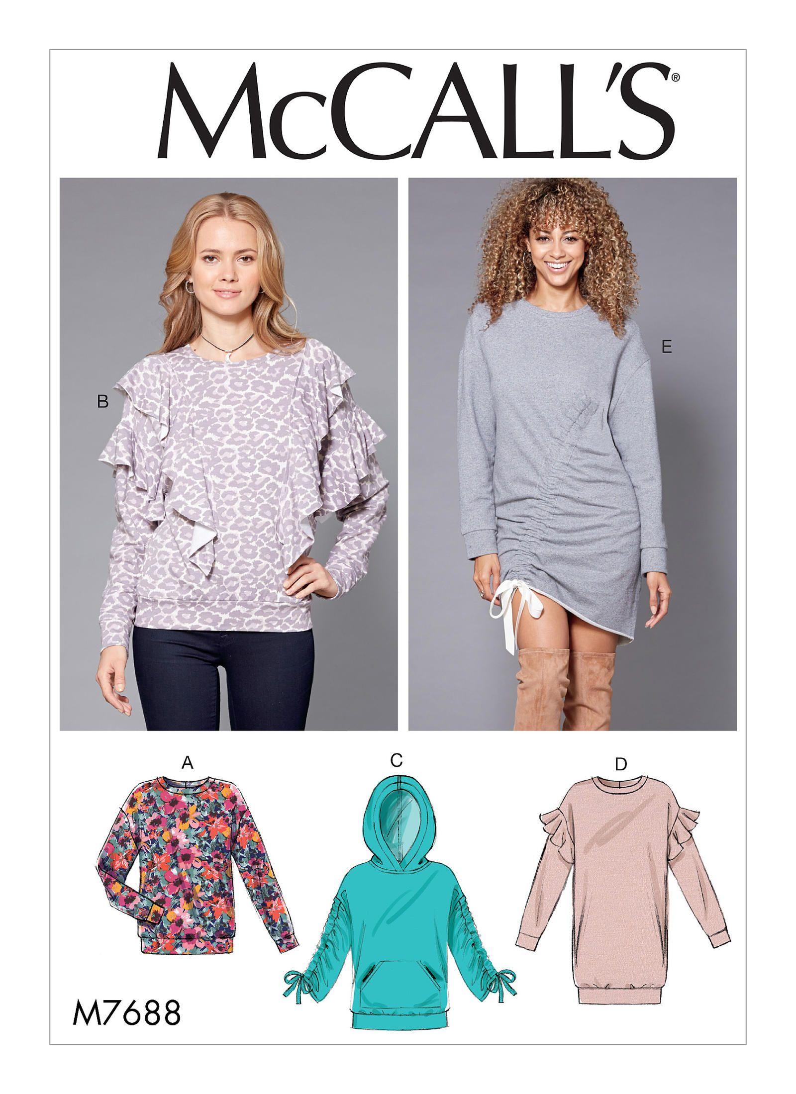M7688 | McCall\'s Patterns | Sewing Patterns | MBV Patterns | Pinterest