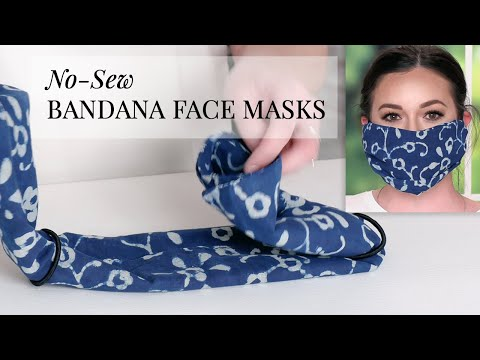 Photo of How To Turn A Bandana Into A Face Mask For Coronavirus