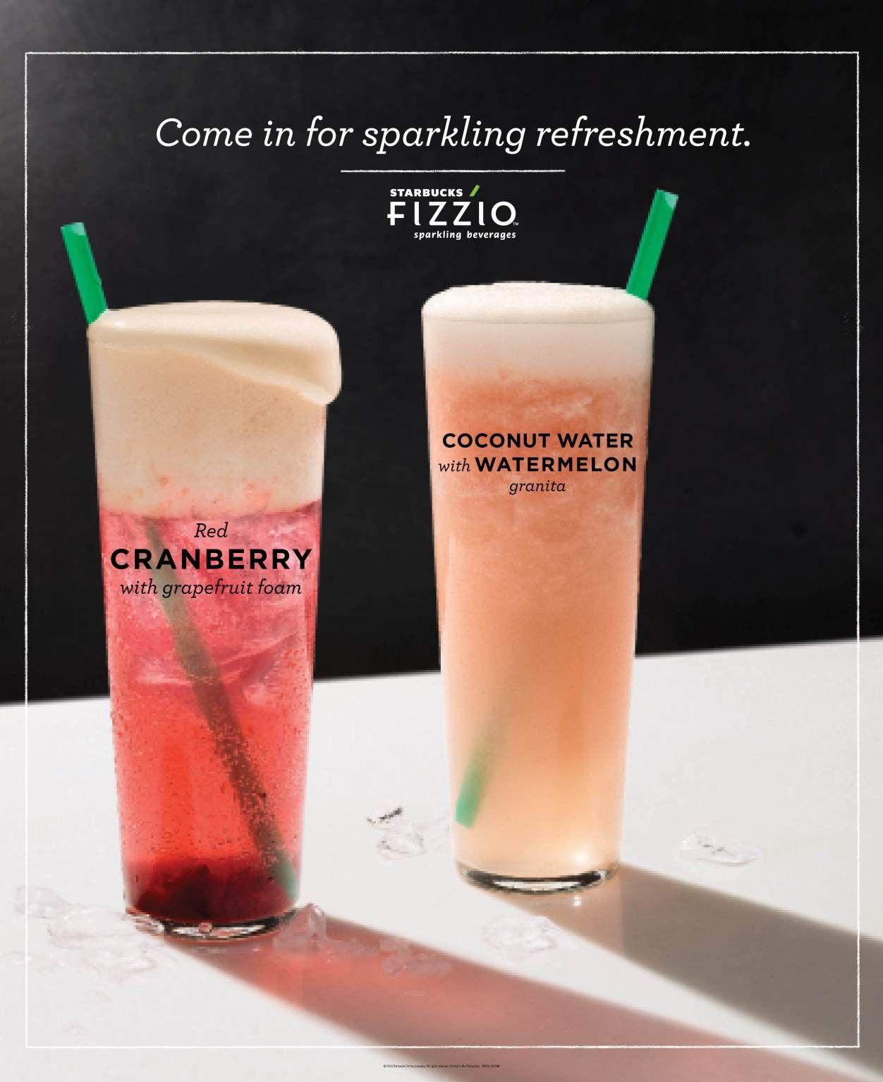 What's new this summer at Starbucks Philippines? The new Fizzio Sparkling…