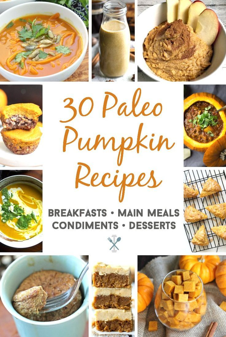 The Ultimate Paleo Pumpkin Recipe Roundup 30 Of The Best
